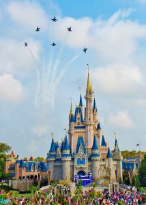 Disney World with Cinderella Castle