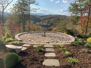 Scatter Garden in the Blue Ridge Mountains