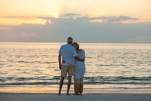Image of Couple embracing each other