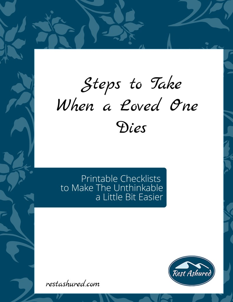 Photo of Steps to Take When a Loved One Dies