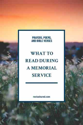 Graphic: What to Read During a Cremation Funeral Service