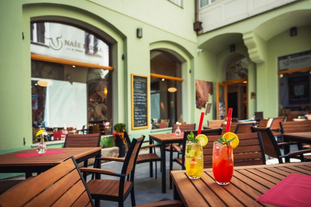 Restaurace Naše farma v Českých Budějovicích