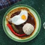Fiaker Gulasch im Restaurant Heuberg 1170 Wien frisch Serviert
