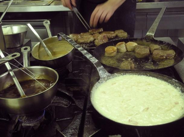 Kässpätzle und Filets....