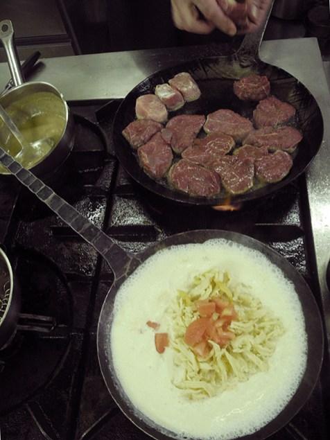 Zweimal Filet: Rind und Schwein