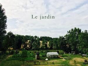 Le jardin du restaurant Bernard Gisquet dans le Tarn, Albi, Gaillac, Cordes-sur-Ciel