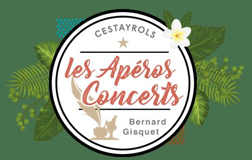 Logo des apéros concerts de Bernard Gisquet à Cestayrols