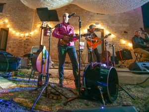 chez bernard gisquet Lou Cantoun Apéro concert _gerry carter quarted