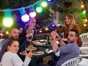 chez bernard gisquet Lou Cantoun Apéro concert _soirée entre amis