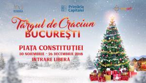 Târgul de Crăciun București 2018 se deschide pe 30 noiembrie!