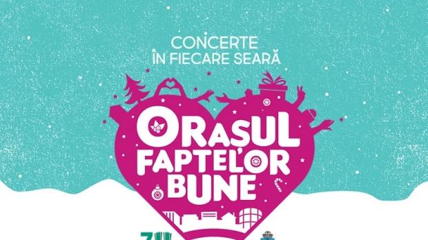 O saptamana de concerte la Orasul Faptelor Bune, in Piata Universitatii