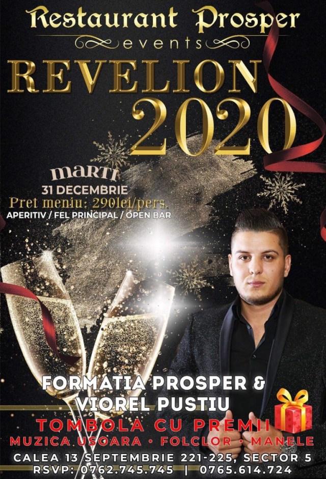 O petrecere plină de voie buna, cu muzica live, meniu gustos și OPEN Bar va așteapta la Restaurant Prosper, pe 31 Decembrie!
