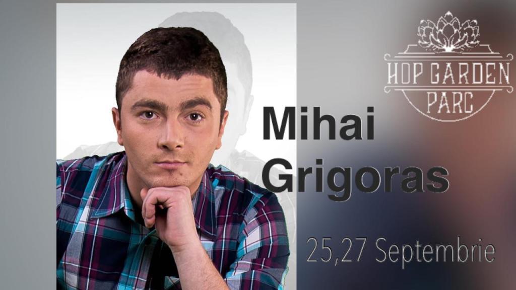 Mihai Grigoras la Hop Garden