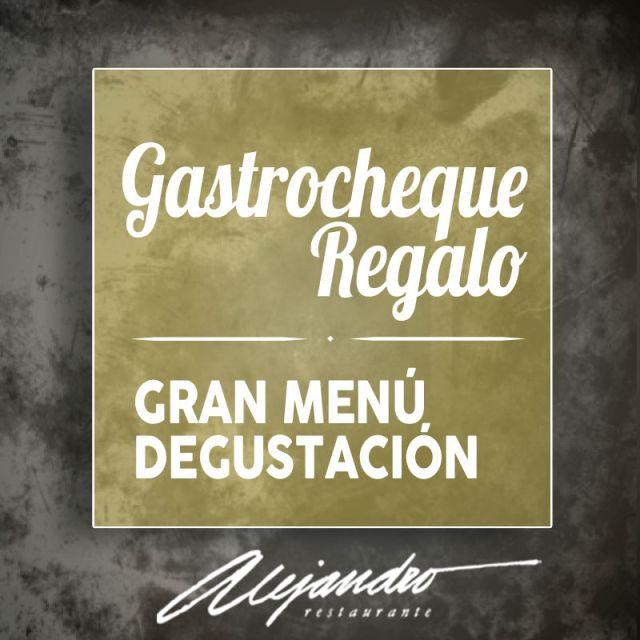 gastrocheque Restaurante Alejandro