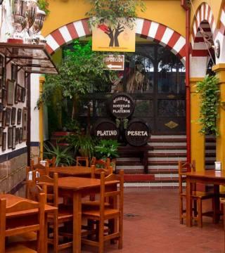 Vista general barriles. Restaurantes en Córdoba. Sociedad Plateros María Auxiliadora