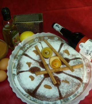 Pastel cordobés del Restaurante de Córdoba Sociedad Plateros Maria Auxiliadora
