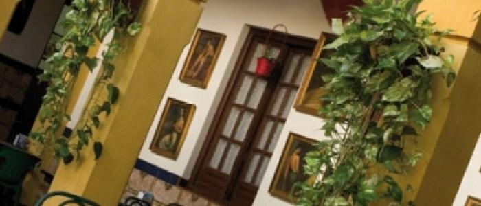 Detalle interior de la Taberna Sociedad Plateros de Maria Auxiliadora