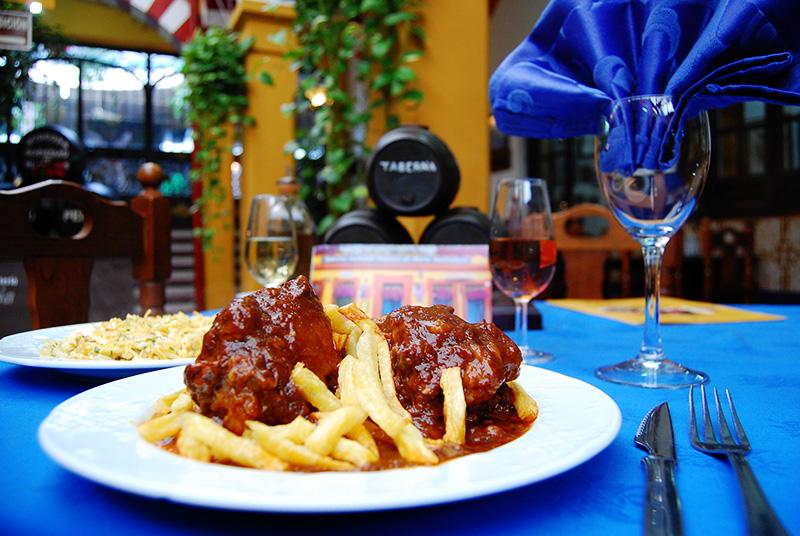 Presentación del Rabo de Toro Cordobés del Restaurante Sociedad Plateros María Auxiliadora