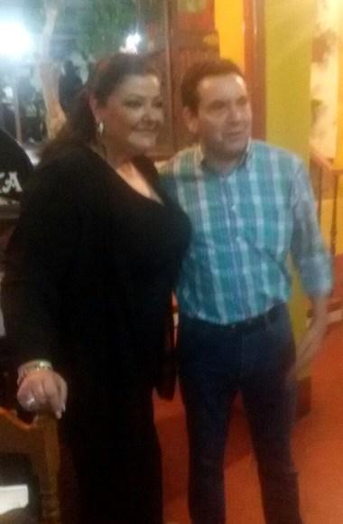 Charo Reina en el Restaurante en Cordoba Sociedad Plateros Maria Auxiliadora 09