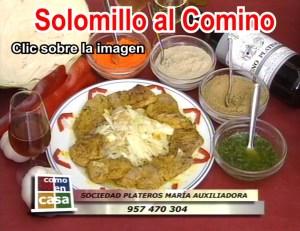 Solomillo al comino en el Restaurante en Cordoba Sociedad Plateros Maria Auxiliadora