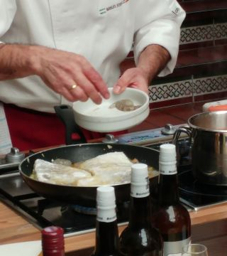 Bacalao con almendras sin gluten sin lactosa 04