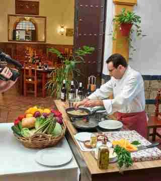 03-Puntas de solomillo sin gluten en el Restaurante Sociedad Plateros Maria Auxiliadora