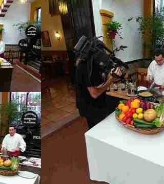 04-Puntas de solomillo sin gluten en el Restaurante Sociedad Plateros Maria Auxiliadora