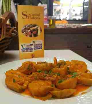 13-Alacahofas al Montilla siin gluten del Restaurante Sociedad Plateros Maria Auxiliadora