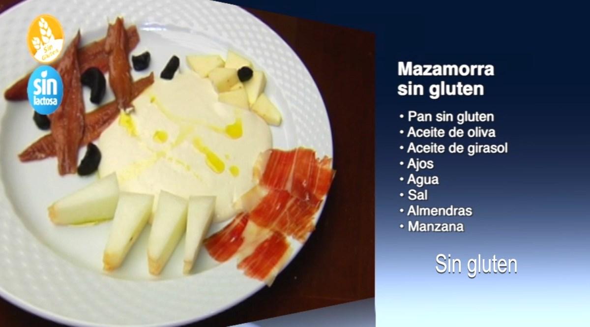 Mazamorra sin gluten