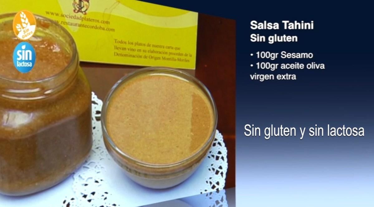 Salsa Tahini sin gluten y sin lactosa