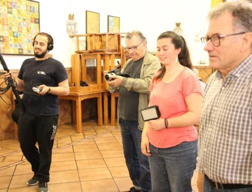 Rodaje en Restaurante Sociedad Plateros Maria Auxiliadora 17