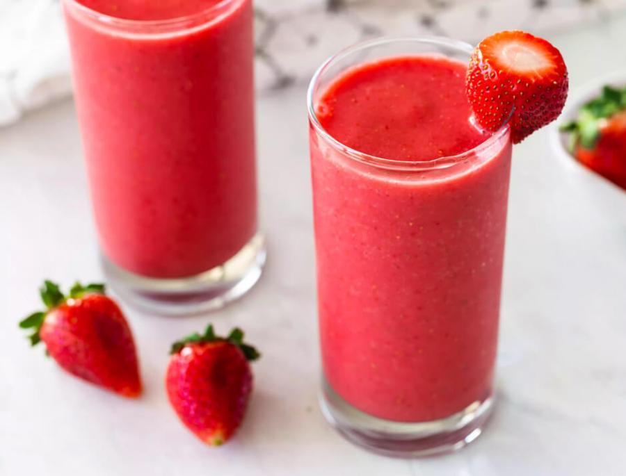 smoothie de fresas