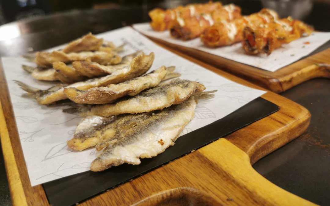 Platos típicos de la comida mediterránea
