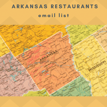 Instant Download Access to Arkansas Restaurants Email List Databases