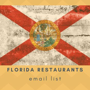 Contact Restaurants in Florida with our Florida Restaurant Email List