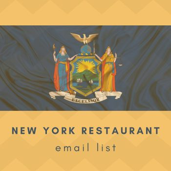 New York Restaurant Emails Database and Mailing List