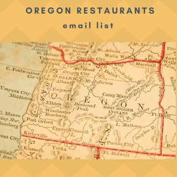 Oregon Restaurants Email List Database