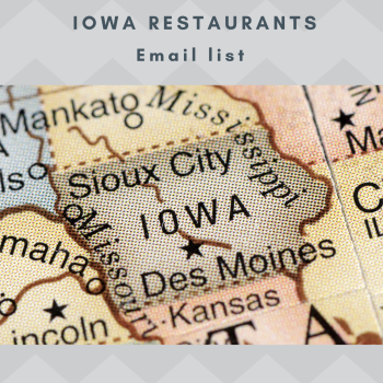 Iowa Restaurants Email and Mailing list