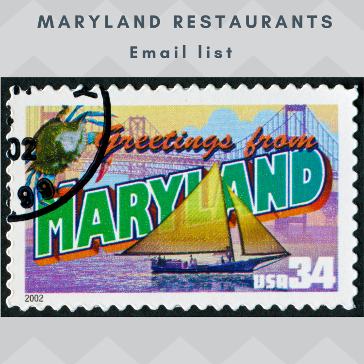 Maryland Restaurants Email and Mailing list
