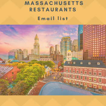Massachusetts Restaurants Business Owner Data List