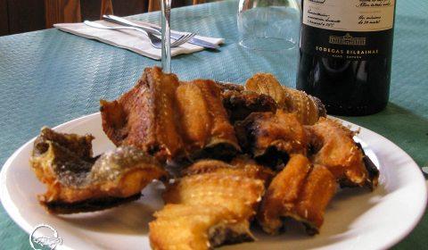 Morenas Fritas · Restauranente San Andrés · La Palma