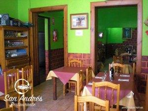 Comedor del Restaurante San Andrés · La Palma · Canarias · Pescado Fresco, Paella de Marisco, Gran Selección de vinos.