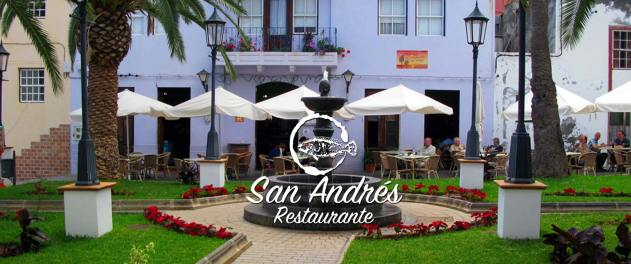 Cabecera Restaurante San Andrés · La Palma