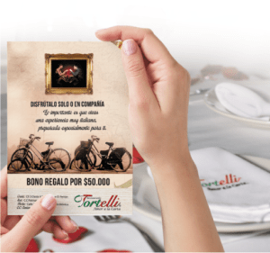 Restaurante Tortelli - Servicios Bonos corporativos