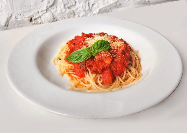 Spaguetti Amatriciana