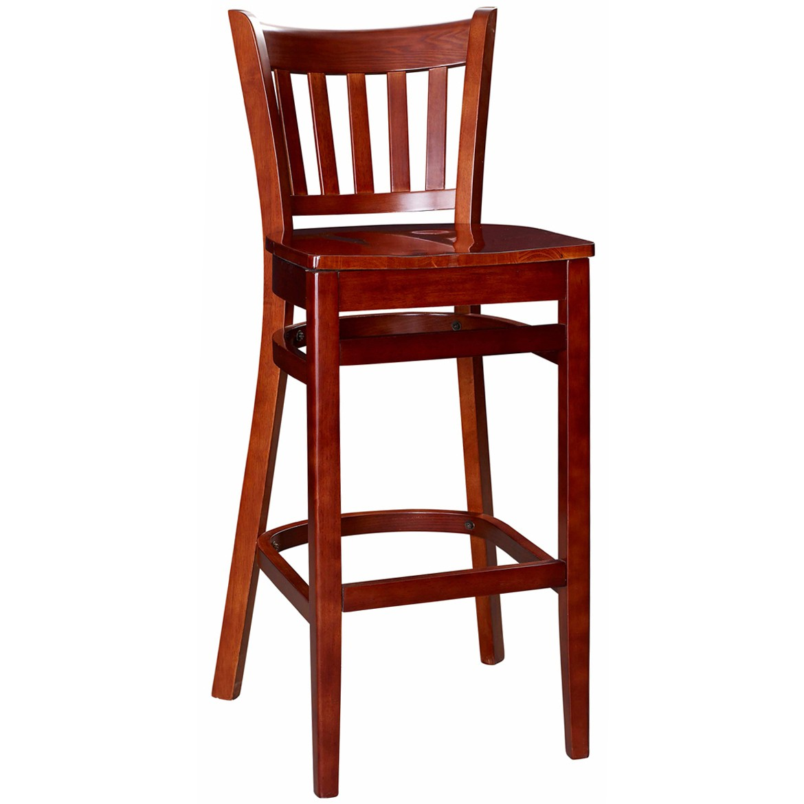 Bar Chairs Vertical Slat Wood Bar Stool For Sale Restaurant Barstools
