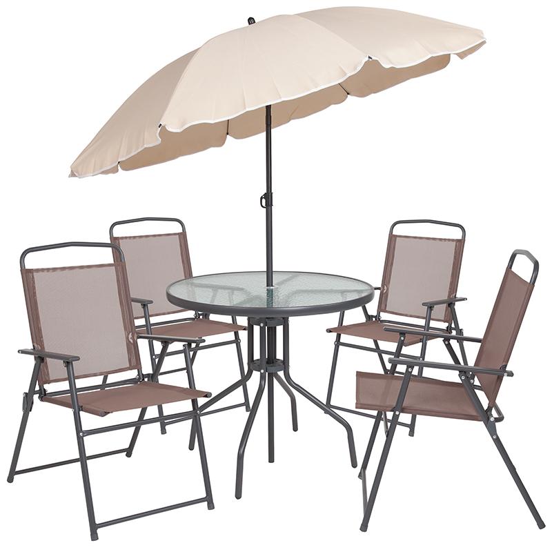 patio 6 piece dining set outdoor