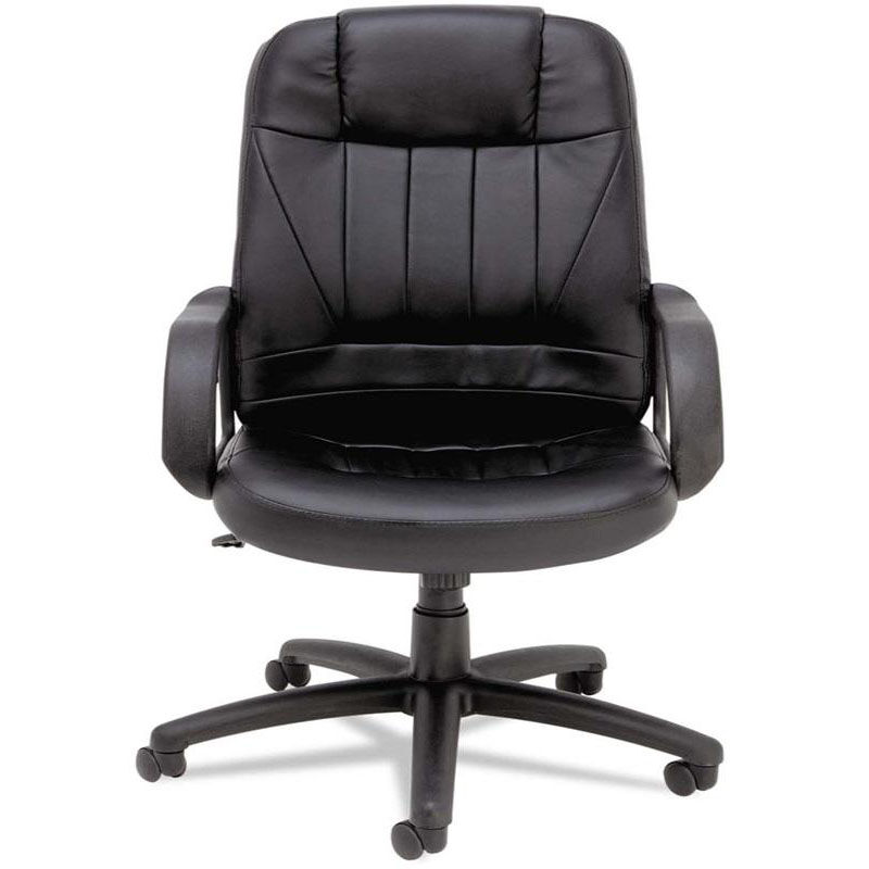 Alera Office Chairs Executive High Back Chair Black Alesp41ls10b