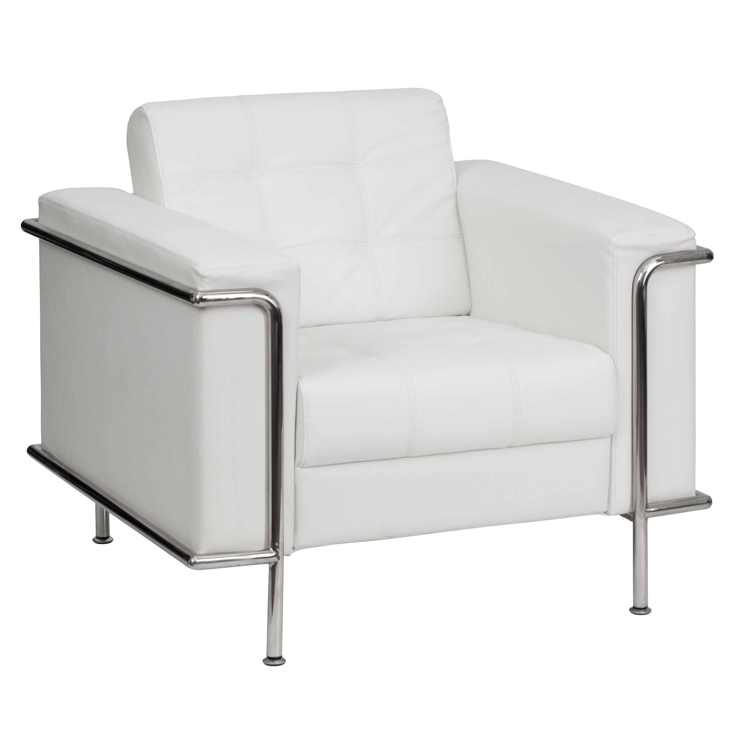 White Leather Chairs White Leather Chair Zb Lesley 8090 Chair Wh Gg
