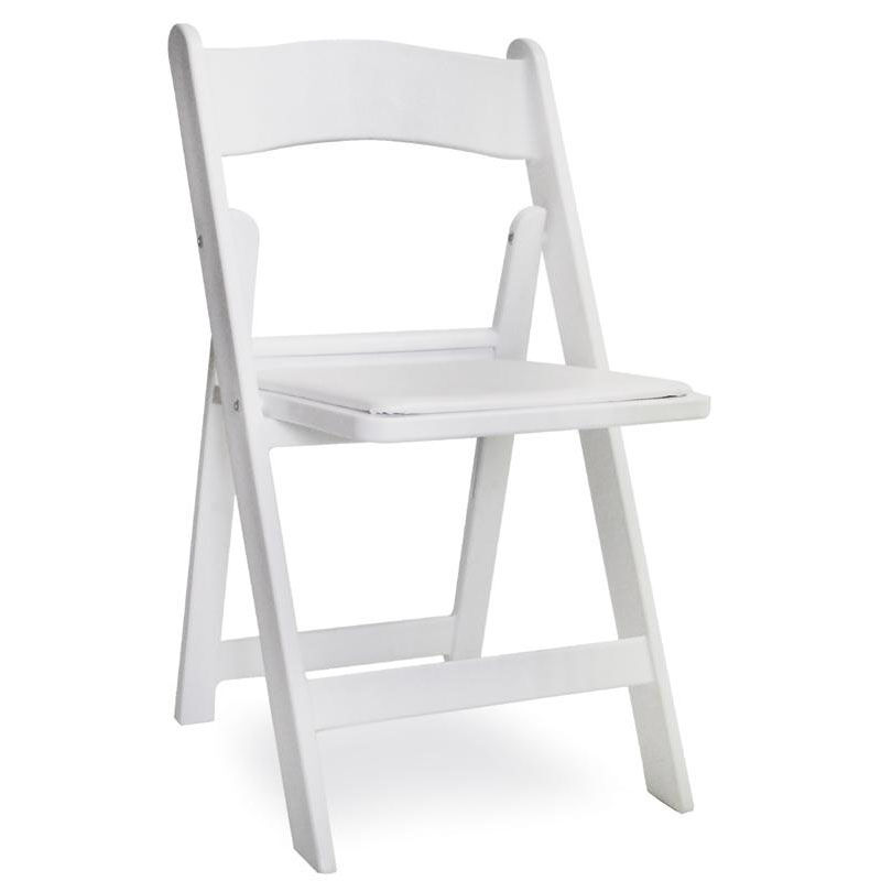 Stackable Folding Chairs Gala White Stackable Folding Chair 77100